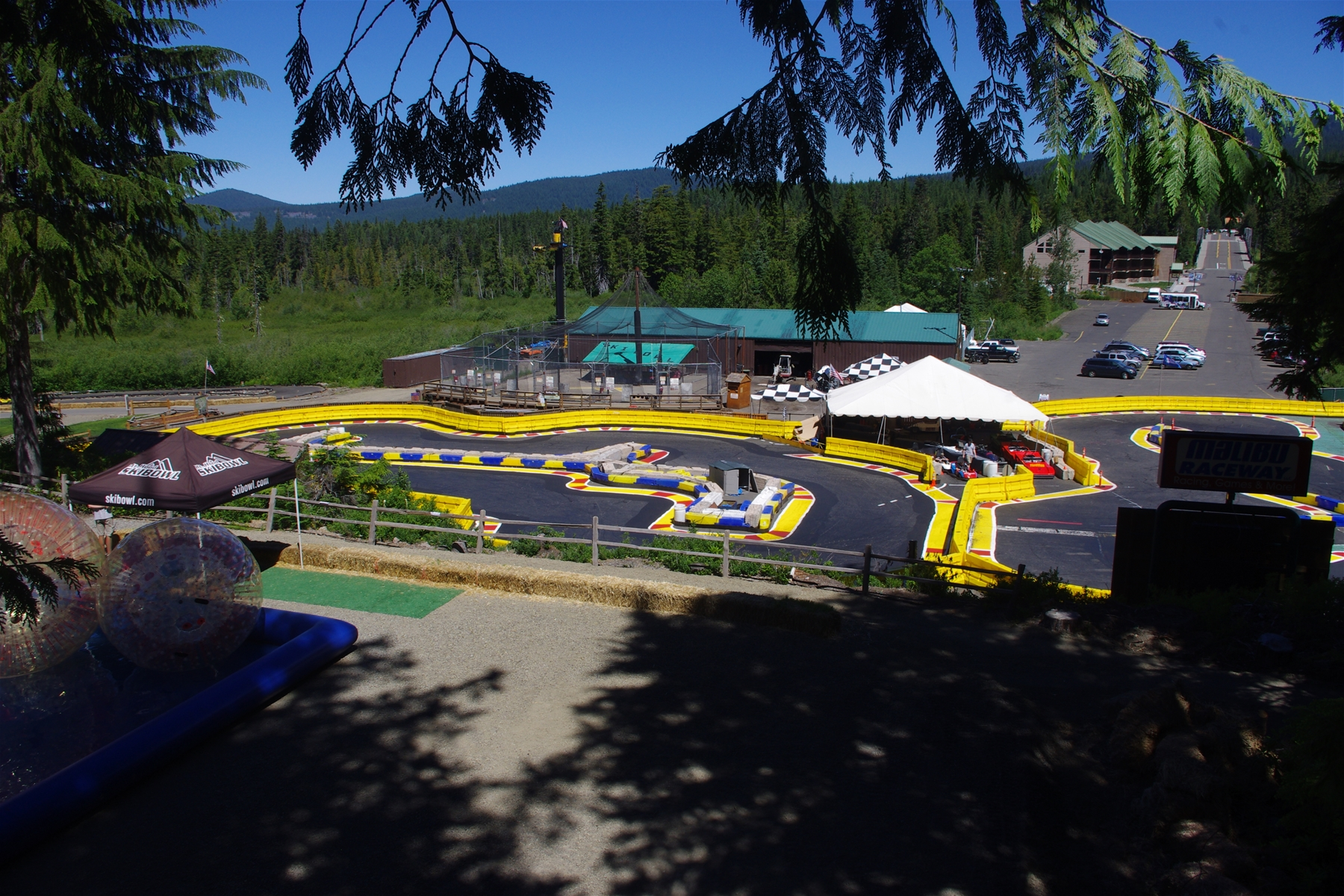 Collins Lake Resort is Close to Mt. Hood Adventure Park