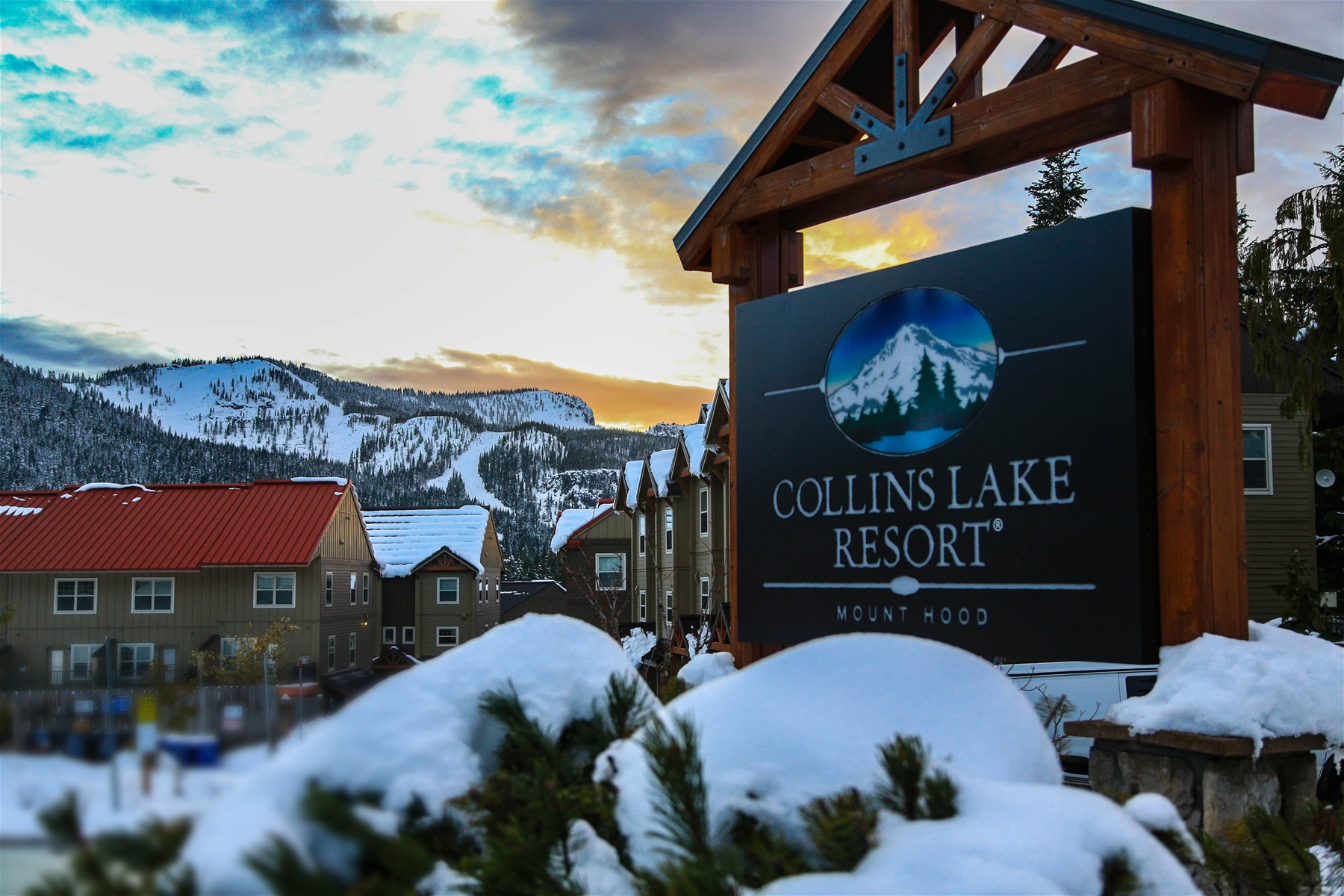 Collins Lake Resort Beautiful All Year Round