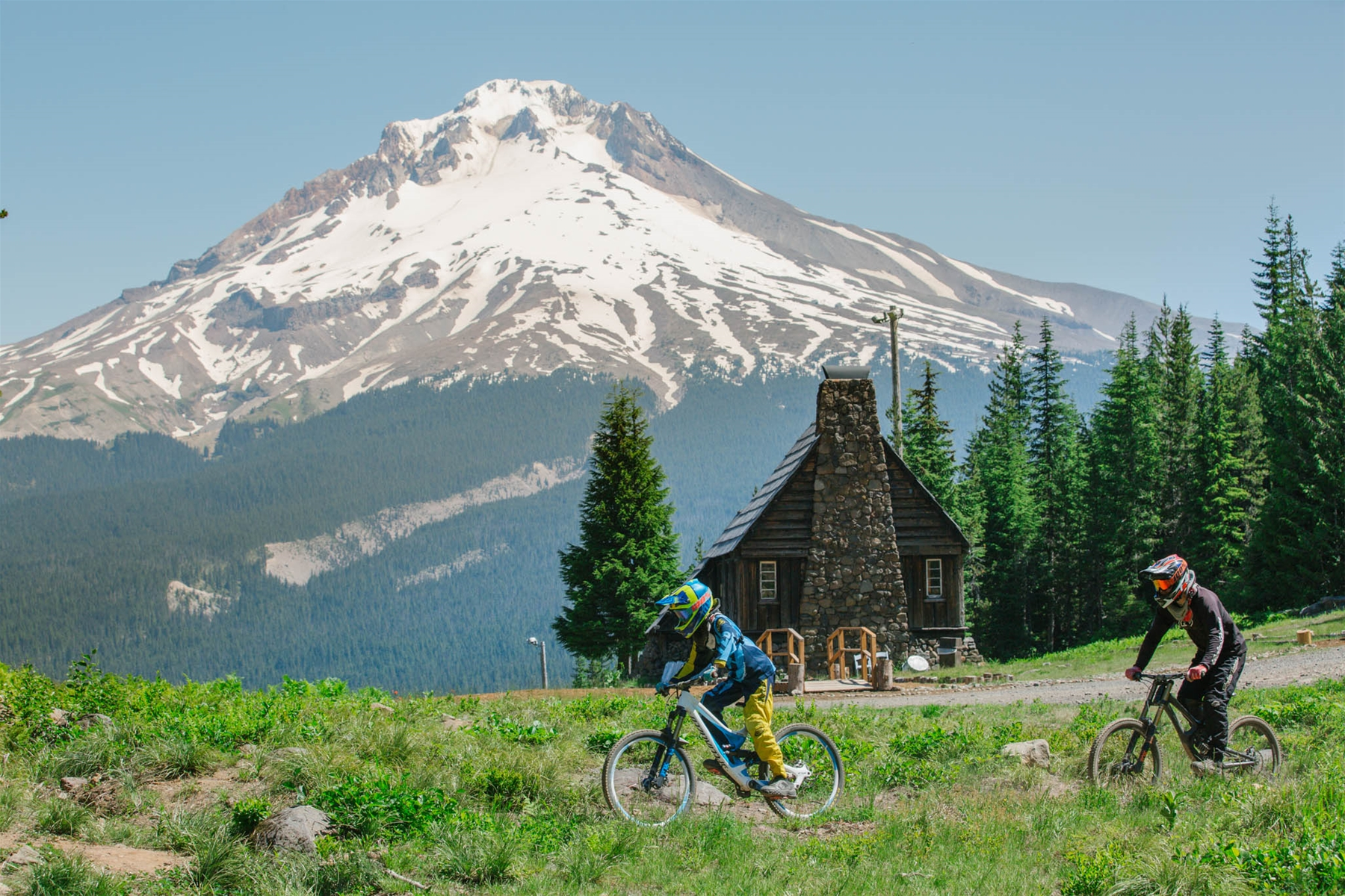 Mt. Hood Skibowl Bike Park is Right Next to Collins Lake Resort